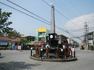 Philippine Scouts - Macabebe Scouts monument-memorial (Macabebe, Pampanga: On April 23, 1901, the Macabebe scouts helped capture Aguinaldo in Palanan, Isabela).