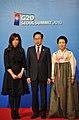G-20 Seoul 2010 - Lee Myung-bak and Cristina Fernández de Kirchner (02).jpg