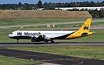 G-ZBAK A321 Monarch BHX 29-09-16 (30819507374).jpg