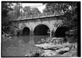GENERAL VIEW - Pennypack Creek Bridge, 8300 Frankford Avenue, Philadelphia, Philadelphia County, PA HABS PA,51-PHILA,414-1.tif