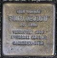 GE Stolperstein - Simon Neudorf, Markenstraße 19.jpg