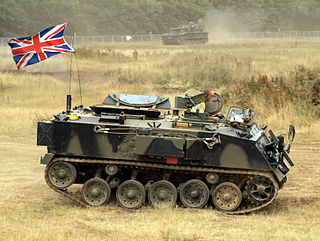 FV432 Type of Armoured personnel carrier
