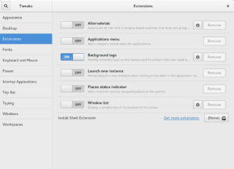 Dconf - GNOME Tweak Tool gives access to a certain popular subset of the desktop settings.