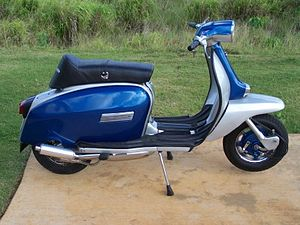 English: Lambretta GP200.
