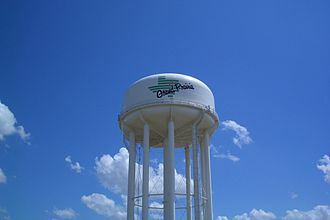 Grand Prairie, Texas - Image: GP Water Tower