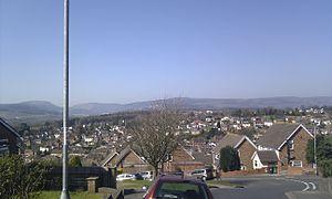 Gaer, Newport - Image: Gaer View