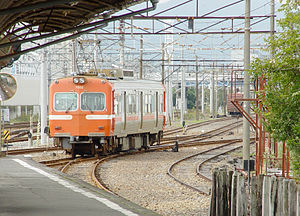 Gakunan train at Yoshiwara Station 200511.jpg