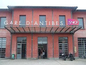 Gare d'Antibes - Antibes railway station