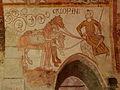 Gargilesse-Dampierre (36) Église Saint-Laurent et Notre-Dame Crypte Fresques 12.JPG