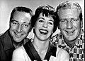 Garry Moore Carol Burnett Durward Kirby Garry Moore Show 1961.JPG