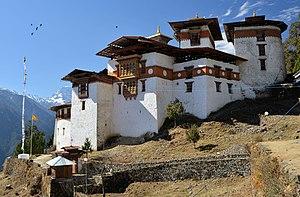Gasa Dzong - Gasa Dzong