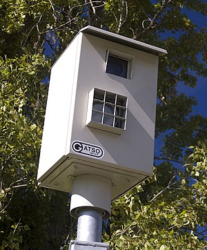 Gatso Meter speed camera in Canberra, Australi...