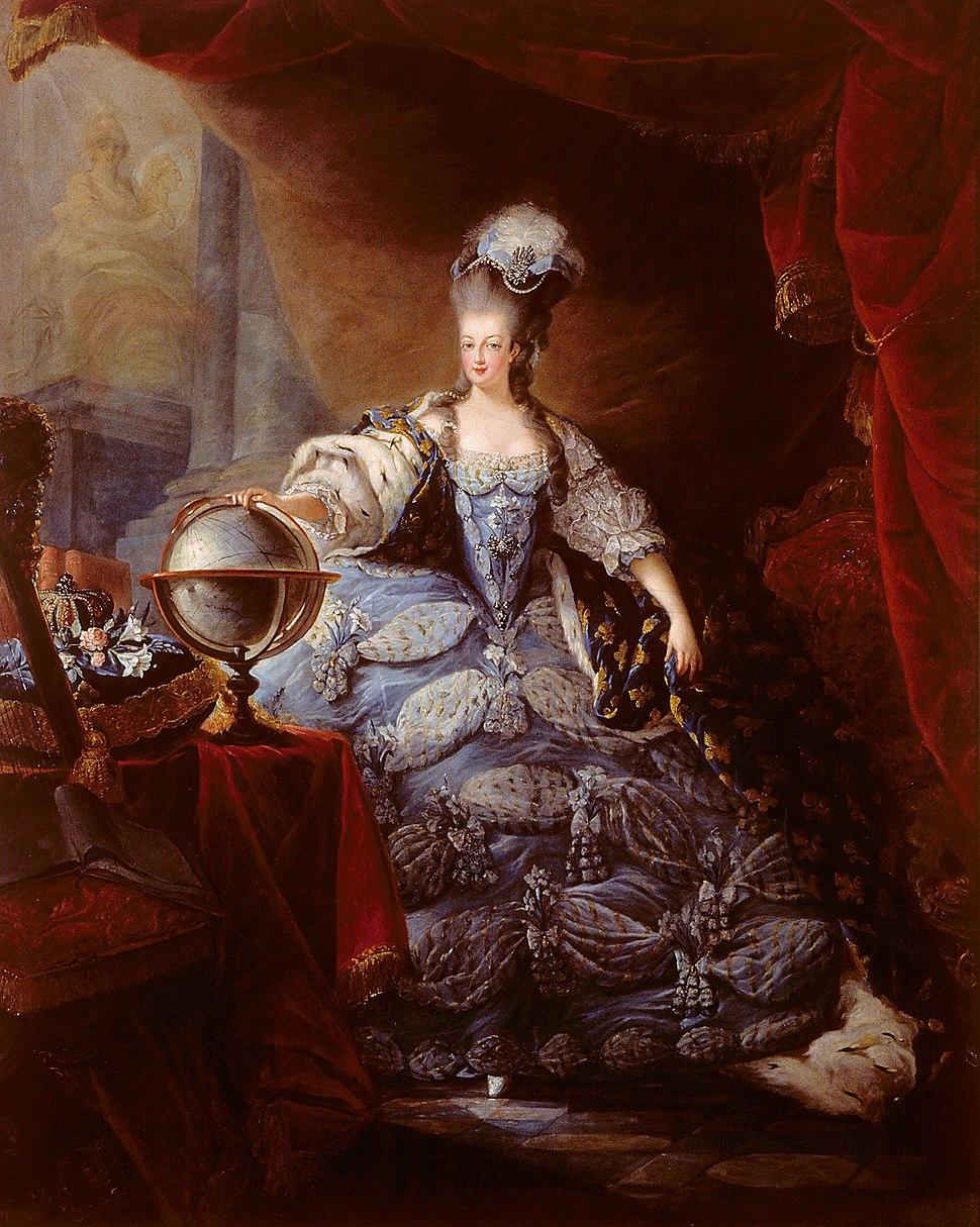 Gautier-Dagoty - Marie-Antoinette, 1775
