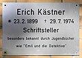 Gedenktafel Bachstelzenweg 2-8 (Dahl) Erich Kästner.jpg