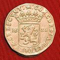 Gelderland, rijksdaalder 1699, Harderwijk.JPG