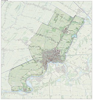 Dutch Topographic map of the former municipality of Leerdam, June 2015 Gem-Leerdam-OpenTopo.jpg