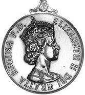General Service Medal 1918 EII obv