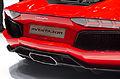 Geneva MotorShow 2013 - Lamborghini Aventador rear.jpg