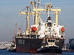 Genius Star VIII (ship, 2007) - IMO 9379868 & Tug 31 & Tug 42, Port of Antwerp pic2.JPG
