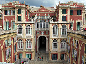 Palazzo Reale (Genoa) - View of the Palace