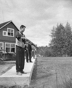 George Genereux - Image: George Genereux 1952