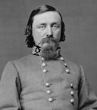 Battle of Five Forks -  Major General George Pickett
