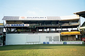 Kensington Oval - Image: George Challenor (Kensington stands), Barbados