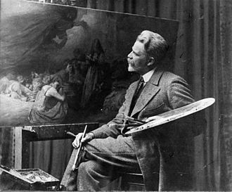George Edmund Butler - George Edmund Butler at work