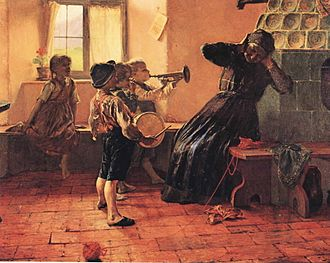 Modern Greek art - Georgios Jakobides, Children's Concert.