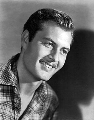 George Montgomery (actor) - 1940s photo