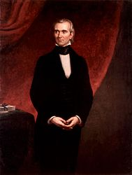 George Peter Alexander Healy: James Knox Polk