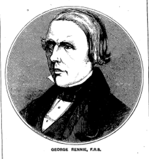 George Rennie (engineer) - George Rennie