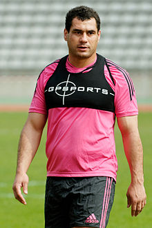 Description de l'image  George Smith Stade francais 2012-03-03.jpg.