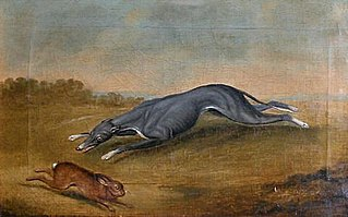 Untitled (Hound Chasing a Hare)