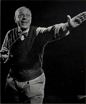 George Szell - Szell at University of Michigan, c. 1956