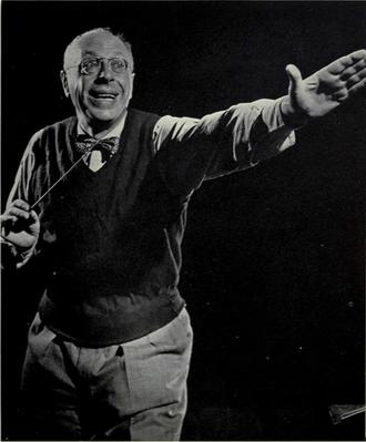 George Szell - Szell at University of Michigan, c. 1956