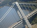 George Washington Bridge, connecting the New York City borough of The Bronx with Fort Lee, New Jersey. October 8, 2006 - panoramio.jpg