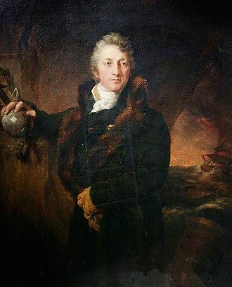 George William Manby - George William Manby, portrait by John Philip Davis