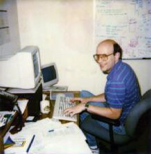 George Woltman - George Woltman, computer scientist and noted prime number hobbyist, in 1993.
