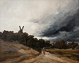 Georges Michel Paysage au chasseur.jpg