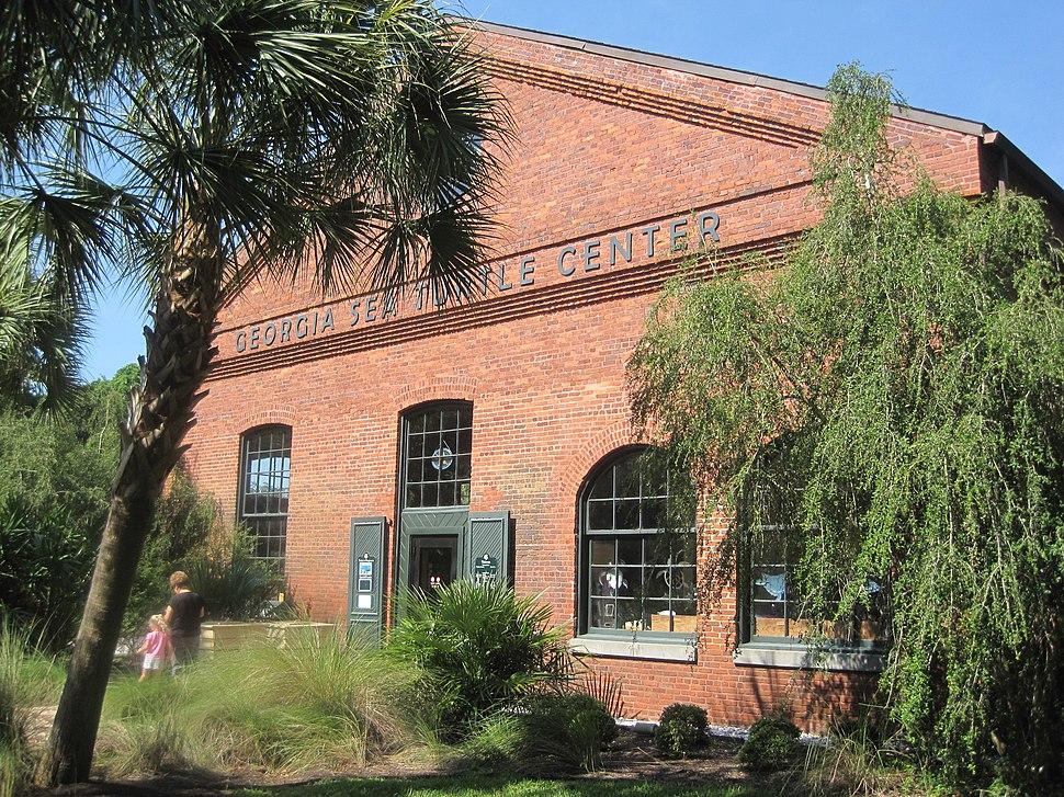 Georgia Sea Turtle Center building