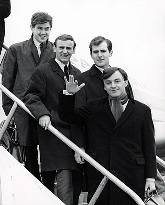 Gerry and the Pacemakers - The group's New York arrival in 1964.