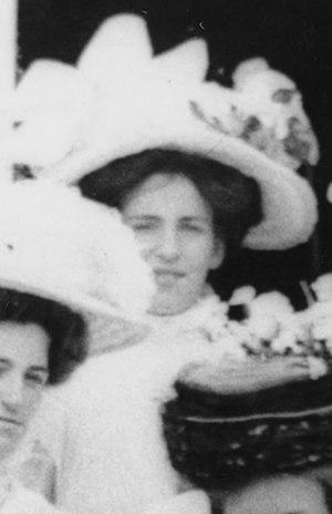 Edmund Hillary - Gertrude Clark, mother of Edmund Hillary, 1909