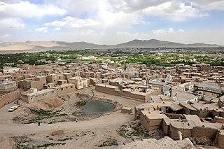 Ghazni City in Ghazni Province, Afghanistan