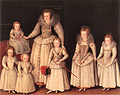 Gheeraerts Barbara Gamage with Six Children.jpg
