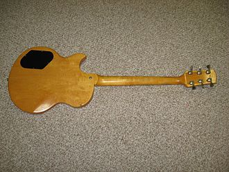 Gibson L6-S - Rear view of a L6-S Custom