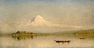 Mount Rainier, Bay of Tacoma