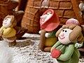 Gingerbread house inhabitants 2009.jpg