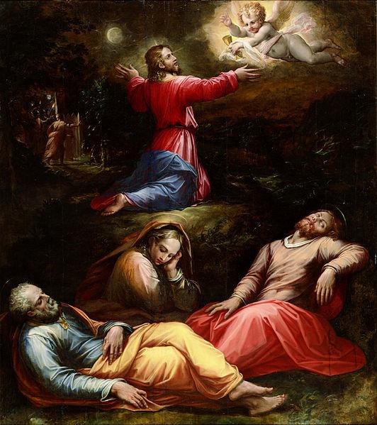 File:Giorgio Vasari - The Garden of Gethsemane - Google Art Project.jpg; Easter Explained in Paintings
