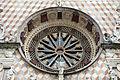 Giovanni antonio amadeo, facciata della cappella colleoni, 1472-75, rosone 01.JPG